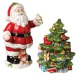 Kaldun & Bogle Christmas Gifts Santa, Tree Salt and Pepper Set