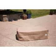 Duck Covers Elite Patio Ottoman/Side Table Cover; 18'' H x 24'' W x 24'' D