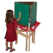 Wood Designs Adjustable Board Easel; Chalk Board