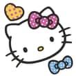 Room Mates Popular Characters Hello Kitty Foam Characters Wall Sticker