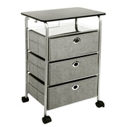 Richards Homewares 31.5'' 3 Drawer Eyelet Cart