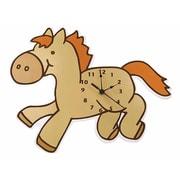 Trend Lab Cowboy Baby Pony Wall Clock