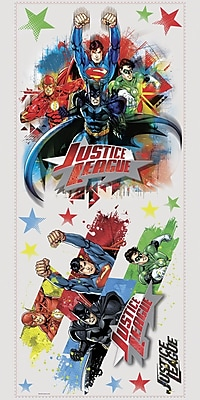 Room Mates Popular Characters Justice League Wall Decal WYF078277021962