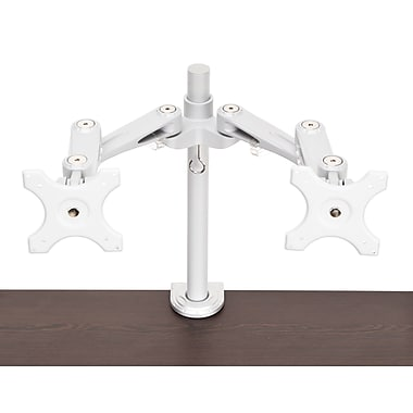 OFM MON-C-DBL-SVR Clamp Mounted Dual Arm for 26