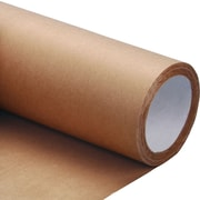Shamrock Unlined Cohesive Coated Natural Kraft Roll, 24 x 150'