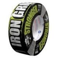 Intertape® Iron Grip™ 17 mil Super Tough Aggressive Duct Tape, 1.88in. x 35 yds., Black, 12 Roll