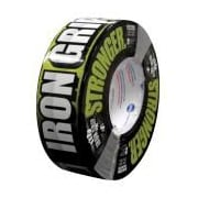 "Intertape® Iron Grip™ 17 mil Super Tough Aggressive Duct Tape, 1.88"" x 35 yds., Black, 12 Roll"