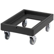 Cambro CD100-110, Plastic Camdolly - for Catering Equipment, Black