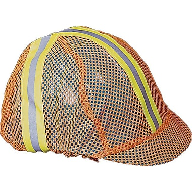 Mutual Industries Reflective Hard Hat Cover, Orange