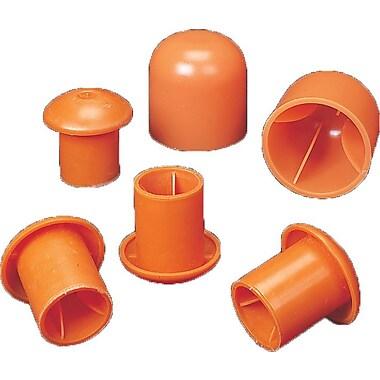Mutual Industries #3 - #9 Standard Rebar Safety Cap, Orange