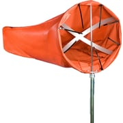 "Mutual Industries Windsock Kit, 18"" x 96"", Orange"