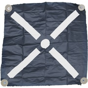 "Mutual Industries Harlequin Bullseye Iron Cross Aerial Target, 72"" x 72"""