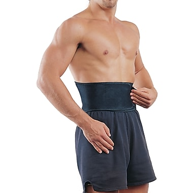 Mutual Industries Adjustable Neoprene Back Support, Black, One Size