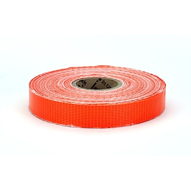 Mutual Industries Reinforced Barricade Tape, 3/4