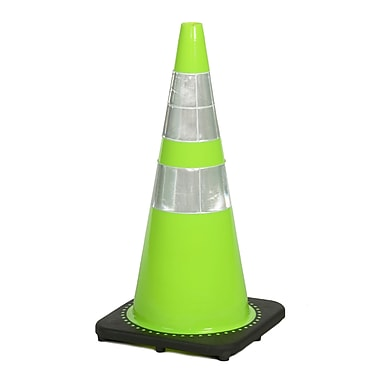 Mutual Industries 7 lbs. Reflective Traffic Cone, 28