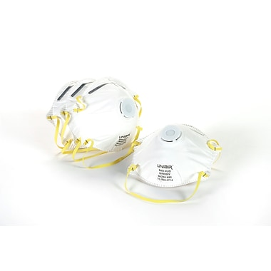 Mutual Industries N95 Dust and Mist Respirator With Valve