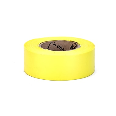 Mutual Industries Ultra Glo Flagging Tape, 4