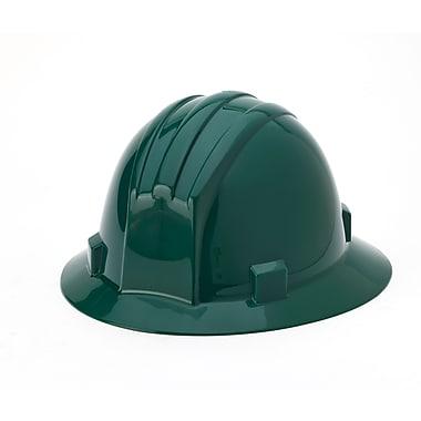 Mutual Industries Full Brim Hard Hat, Green