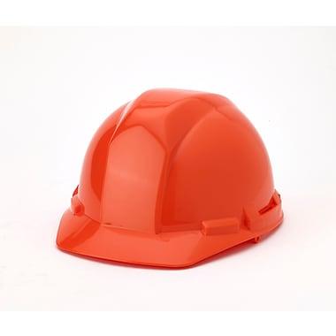 Mutual Industries 4-Point Ratchet Suspension Hard Hat, Orange