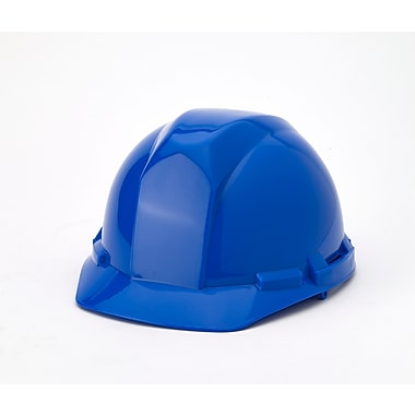 Mutual Industries 4-Point Pin Lock Suspension Hard Hat, Blue