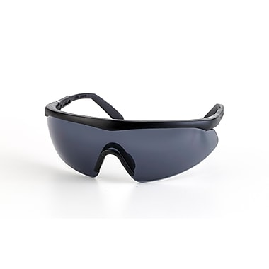 Mutual Industries Shark Safety Glasses With Black Frame, Gray