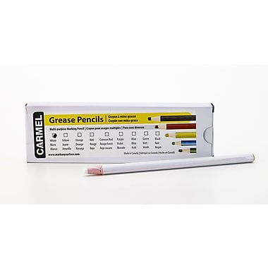Mutual Industries Pencil China Marker, White