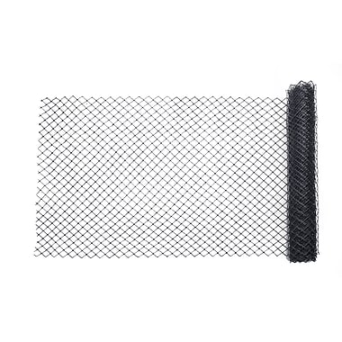Mutual Industries Diamond Link Fence, 4' x 50', Black