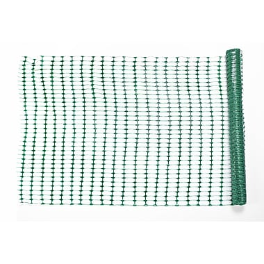 Mutual Industries Warning Barrier Fence, 4' x 50', Green