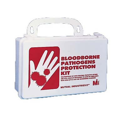 Mutual Industries Blood Borne Pathogens Protection Kit