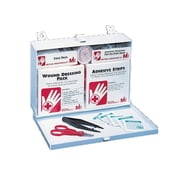 Mutual Industries Metal First Aid Kit, 25 Person