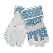 Mutual Industries Heavy-Duty Leather Palm Work Gloves
