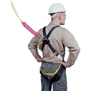 Mutual Industries Polyester Lightweight Safety Harness and Lanyard Combo With D-Ring