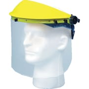 "Mutual Industries Face Shield With Visor, 8"" x 15 1/2"""
