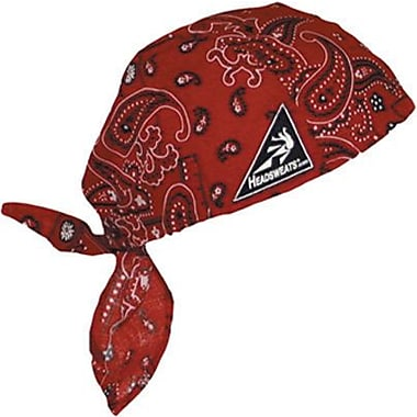 Mutual Industries Kromer Cotton Coolhead Wrap, Red Paisley