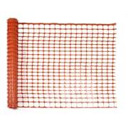 Mutual Industries Heavy-Duty Warning Sno-Guard Barrier Fence, 4' x 50', Orange