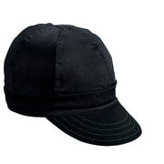 Mutual Industries Kromer A250 Twill Style Hard Bill Cap, Black, One Size