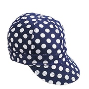 Mutual Industries Kromer A32 Dot Style Hard Bill Cap, Blue/White, One Size