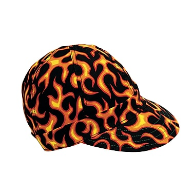 Mutual Industries Kromer C357 Flames Flag Style Hard Bill Cap, One Size