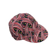 Mutual Industries Kromer C358 RWB Ribbon Style Hard Bill Cap, One Size