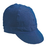 Mutual Industries Kromer A45 Denim Style Hard Bill Cap, Blue, One Size