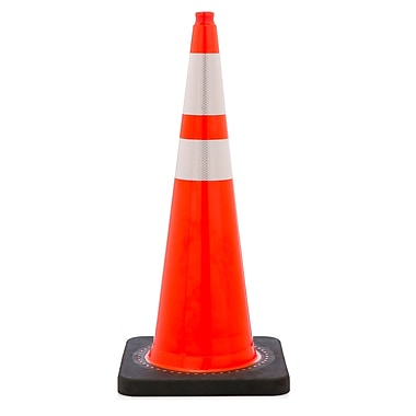 Mutual Industries 10 lbs. Reflective Traffic Cone, 36