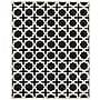 Safavieh Trinity Cambridge Wool Pile Area Rug, Black/Ivory,