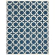 Safavieh Trinity Cambridge Wool Pile Area Rug, Navy Blue/Ivory, 8' x 10'