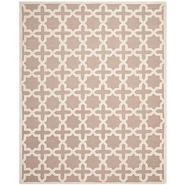 Safavieh Trinity Cambridge Wool Pile Area Rug, Beige/Ivory, 8' x 10'