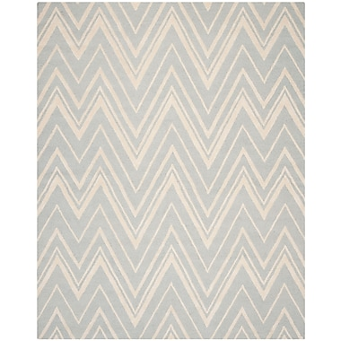 Safavieh Helen Cambridge Wool Pile Area Rug, Gray/Ivory, 9' x 12'