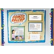 "Educational Insights® 35"" x 30"" Math Vocabulary Comic Relief Pocket Chart, Grades 1-3"