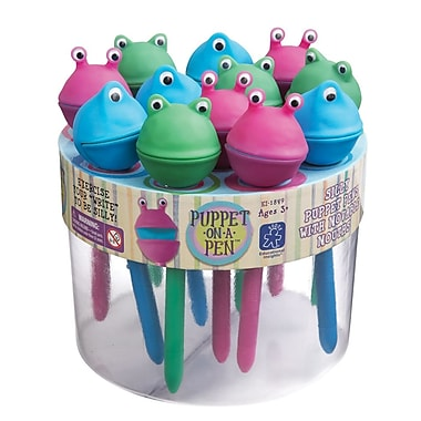 Educational Insights® Puppet-on-a-Pen™ Counter Display, 24/Pack