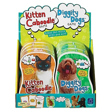 Educational Insights® Kitten Caboodle and Diggity Dogs Game, Grades K-12