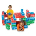 Educational Insights® PlayBrix™ Cardboard Building Bricks, 54/Set