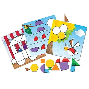 Learning Resources® Shapes Don't Bug Me™ Geometry Activity Set